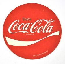 Enjoy Coca-Cola Coke Bierdeckel Untersetzer Coaster USA - Wave Logo