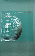 LCD SOUNDSYSTEM original 2005 Capitol promotional poster, 11x17, VG+, indie rock