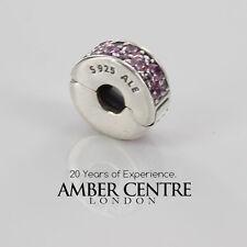 Pandora Original Argent Sterling S925 ALE-ROSE BRILLANT élégance CLIP-791817PCZ