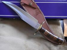 """COLT MODEL CT823 15"""" OVERALL LENGTH BANDIT BOWIE KNIFE WITH LEATHER SHEATH"""