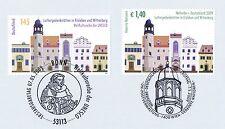 BRD 2009: Luther-Gedenkstätten Nr. 2736 mit der Parallelausgabe! 1A! 1701