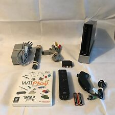 Nintendo Wii Console Black + 9 Games & Activities + FREE DELIVERY