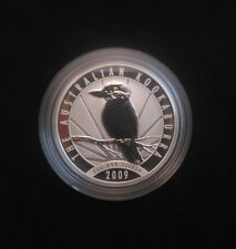 2009 S$2 Australia 2 Oz Silver Kookaburra - low mintage of 20,991