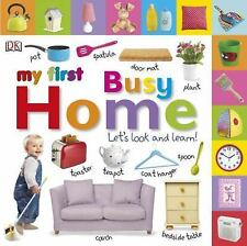Tabbed Board Books: My First Busy Home: Let's Look and Learn! (Tab Board Books),