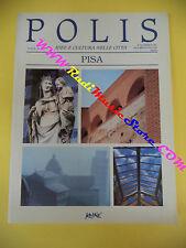 book libro POLIS IDEE E CULTURA NELLE CITTA' PISA anno III n 10 KOINE (L31)