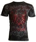 Archaic AFFLICTION Mens T-Shirt ACHILLES Cross Tattoo Biker MMA UFC M-4XL $40