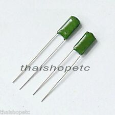 10 x 1nF 0.001uF 100V 5% PEI Mylar Polyester Film Capacitor - Free Shipping