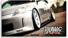 350Z FRP Gloss Black Side Diffusers / Side Skirt add ons / Body kit