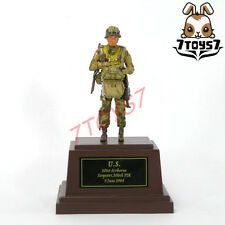 Metal Troops 1/35 Painted Figure_US 101st Airborne Sgt Paratrooper 506th _MT101A