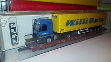 Actros 6033    WILLI BETZ Int. Spedition  2609----TAUTLINER auf BAHNWAGGON--