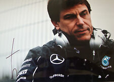 Toto Wolff SIGNED 12x8 F1 Mercedes-AMG Executive Team Director Portrait  1