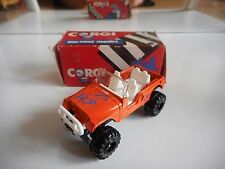 Corgi 4X4 Jeep in Orange in Box
