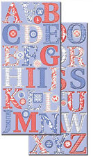 WILDBERRY ALPHABET CHIPBOARD STICKERS scrapbooking CLOSE-OUT SALE!