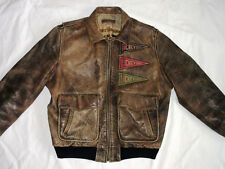 *CHARLES CHEVIGNON FLIEGER LEDERJACKE*OLD FLIGHT THORNES JACKET*GR: L*TIP TOP