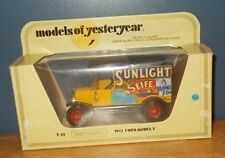 Matchbox Yesteryear Y12 Model T Ford Van Sunlight Seife (Soap)