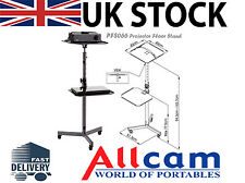 PFS066 Projector Trolley Floor Stand & Laptop/DVD Tray