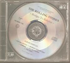 "THE ROLLING STONES ""Bridges To Babylon"" Frankreich Promo CD Sampler 1997"