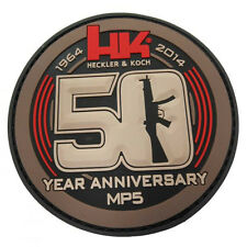HECKLER & KOCH HK 50th Anniversary PVC Patch M10 P7 M13 P30 USP MP5 HK45 ACU
