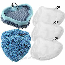 6 Cloth Cover Pads for TRUESHOPPING Grimebuster SM3IN1 SM206 Steam Cleaner Mop