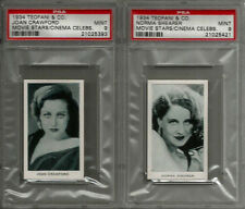 1934 Teofani & Co Ltd Modern Movie Stars & Cinema Celebrities (48) Card Set
