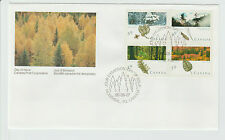 Canada Scott # 1283-1286 on Canada Post Official First Day Cover FDC - Leaves