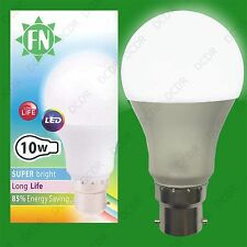 1x 10W (=100W) GLS BC B22 6500K Daylight White A60 LED 110V Festoon Light Bulb