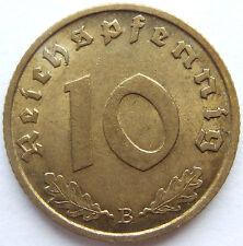 TOP! 10 Pf 1939 B in fast VORZÜGLICH SELTEN !!!