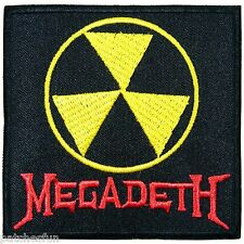 Megadeth Sew Iron on Patch Embroidered Jacket Vest T Shirt Cap Clothing M0004