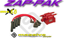 Ignition Kit MSD Coil MSX80 Performance Spark Plug Cables Wires NEON SOHC 95-05