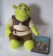 SHREK Talking Plush Toy Doll and DreamWorks Shrek 2 Far Far Away DVD