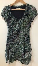 Crew Clothing Navy Paisley Print Ra Ra Dress Uk6 Brand New Unworn Fits Uk 8