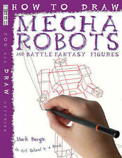 How to Draw Mecha Robots, Mark Bergin