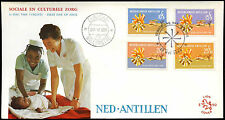 Netherlands Antilles 1968 Relief Funds FDC First Day Cover #C26605