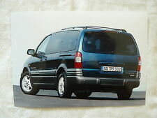 Chevrolet Trans Sport - Presse Foto Werkfoto press photo 2002 (C0018