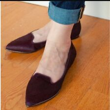 NEW Free People Dolce Vita Calf Hair Oxford shoe 8.5 Loafer Flat Well Made $168