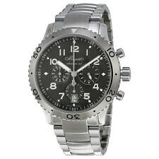 Breguet Transatlantique Type XXI Flyback Ruthenium Dial Stainless Steel Mens