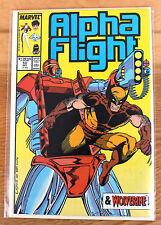 Alpha Flight #53 (Dec 1987, Marvel) & Wolverine!