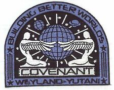 ALIENS PROMETHEUS COVENANT WEYLAND YUTANI AND NAVY OFFICERS NOSTROMO PATCH NEW!