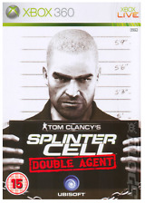 Xbox 360 Tom Clancys Splinter Cell Double Agent *New & Sealed* Official UK Stock