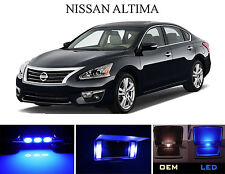 Ultra Blue Vanity / Sun visor  LED light Bulbs for Nissan Altima (4 Pcs)
