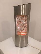 Ooh La La! Vintage Retro Modern Glitter Lamp From France. Stunning Unusual Shape