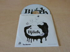 BJORK - Exclusive To Readers THE OBSERVER !!!!!!!!!!!!!!!!! PROMO!!!!DJ CD!!!!!