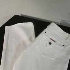 Womens Hudson Pants/Jeans White Size 31 X 33 Flare NWOT