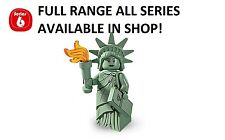 Lego minifigures lady liberty series 6 (8827) new factory sealed