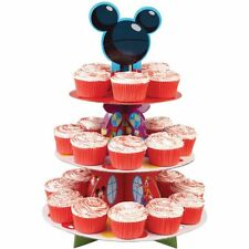 3-Tier Cake Cupcake Stand Disney Mickey Mouse Clubhouse Birthday Party Supplies