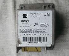 Opel Vectra A Steuergerät Airbag 90462072 JM Siemens