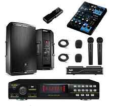 NEW KARAOKE SYSTEM RSQ MACHINE PRO PLAYER YAMAHA JBL EON SPEAKERS RECORDING