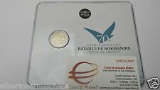 coin card 2 euro 2014 FRANCIA france frankreich 70 Dday Normandia Normandie