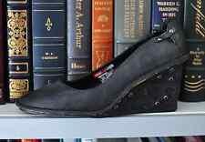 Diesel Harness   footwear Womens   US size: 7  Black leather Pumps