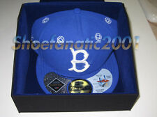 New Era Futura Brooklyn Dodgers Fitted Gortex Hat 7 3/8 Autographed Union LA